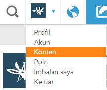 profil konten